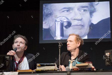 Ari Fliakos as Norman Mailer, Scott Shepherd as Norman Mailer