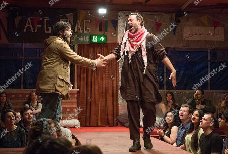 Ammar Haj Ahmad as Safi, Ben Turner as Salar