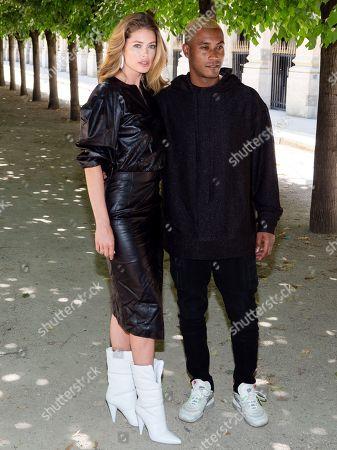 Doutzen Kroes and Sunnery James in the front row