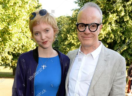 Lily Cole and Hans-Ulrich Obrist