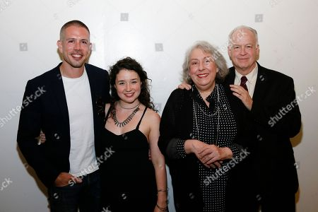Stephen Karam, Sarah Steele, Jayne Houdyshell and Reed Birney