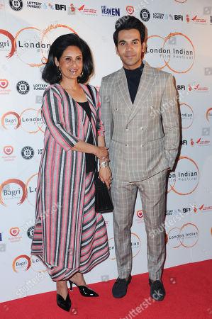 Dr Alka Bagri and Rajkummar Rao