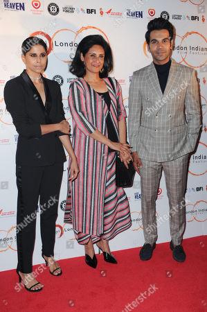 Sai Tamhankar, Dr Alka Bagri and Rajkummar Rao