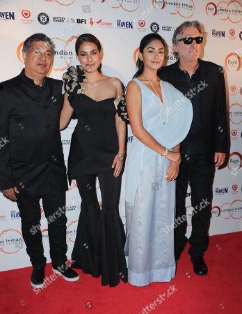 Tabrez Noorani, Riya Sisodiya, Mrunal Thakur and David Womark