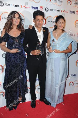 Richa Chadda, Manoj Bajpayee and Mrunal Thakur