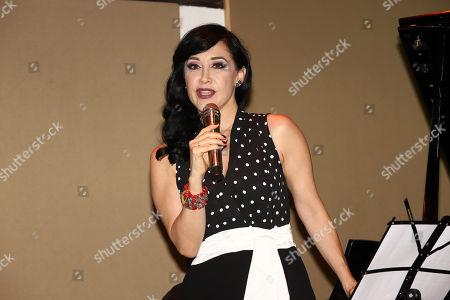 Editorial image of Susana Zavaleta 'Adentro' Album Launch, Mexico City, Mexico - 21 Jun 2018