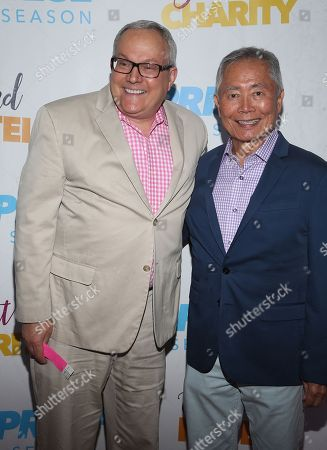 Stock Picture of Brad Altman and George Takei
