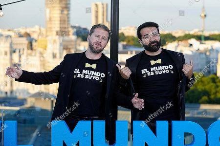 Alfonso Sanchez and Alberto Lopez