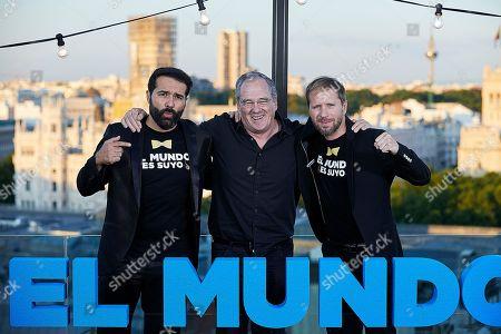 Alfonso Sanchez, Carlos Olalla and Alberto Lopez