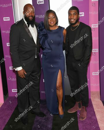 Jahvaris Martin, Tracy Martin, Sybrina Fulton. Jahvaris Martin, right, honorees Tracy Martin, left, and Sybrina Fulton attend VH1's Trailblazer Honors at the Cathedral of St. John the Divine, in New York