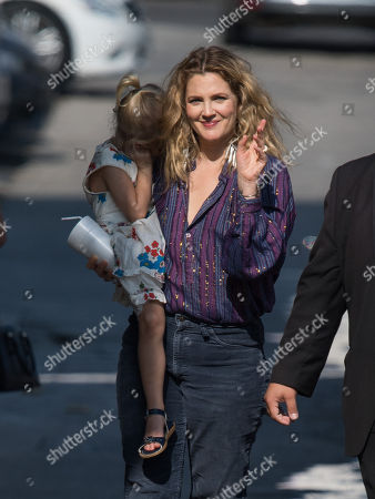 Drew Barrymore and daughter Frankie Barrymore Kopelman