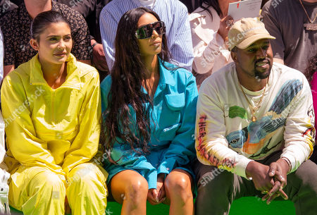Travis Scott, Kylie Jenner, Kim Kardashian