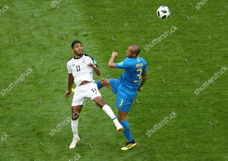 Editorial picture of Brazil v Costa Rica, Group E, 2018 FIFA World Cup football match, Saint Petersburg Stadium, Russia - 22 Jun 2018