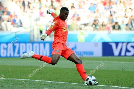 Goalkeeper Francis Uzoho of Nigeria