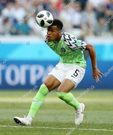 William Troost-Ekong of Nigeria