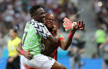 Editorial image of Group D Nigeria vs Iceland, Volgograd, Russian Federation - 22 Jun 2018
