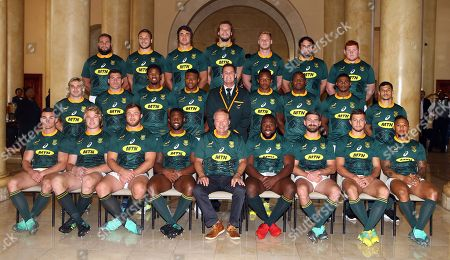 Editorial image of South African - Springbok CaptainÕs media briefing, South Africa - 20 Jun 2018