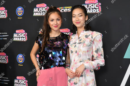 Olivia Rodrigo and Madison Hu