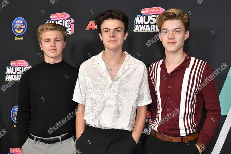 New Hope Club - Reece Bibby, Blake Richardson and George Smith