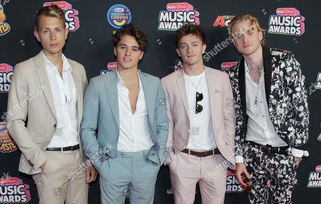 The Vamps - Bradley Simpson, James McVey, Connor Ball and Tristan Evans