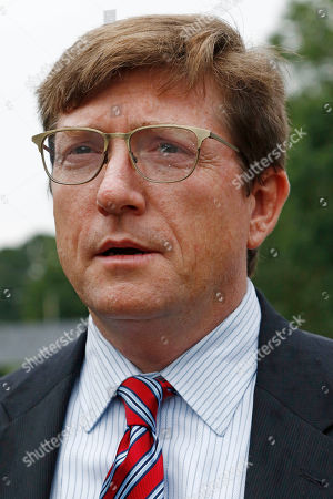 Graph, State Rep. David Baria, D-Bay St. Louis, a U.S. Senate Democratic runoff candidate, readies to speak at a campaign stop in Jackson, Miss. Baria faces venture capitalist Howard Sherman in the party runoff Tuesday, June 26, for the right to face incumbent Republican U.S. Sen. Roger Wicker, in the fall general election