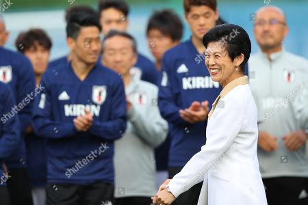Princess Hisako Takamado, Japan team group (JPN)