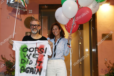 Editorial image of Massimo Bottura's 'Osteria francescana' elected best restaurant in the world, Modena, Italy - 20 Jun 2018