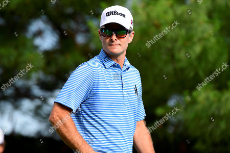 Kevin Streelman of the United States walks down the 10th fairway during the first day of game play at the PGA Travelers Championship golf tournament