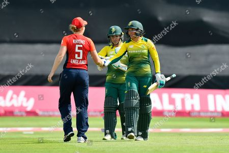Editorial image of England Women Cricket v South Africa, International T20., Women's Tri-Series 2018 - 23 Jun 2018