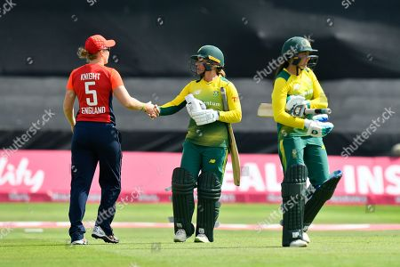 Editorial picture of England Women Cricket v South Africa, International T20., Women's Tri-Series 2018 - 23 Jun 2018