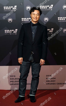 Hong Kong singer Eason Chan arrives at the 29th Golden Melody Awards in Taipei, Taiwan, . Chan is nominated as Best Male Mandarin Singer for his self-titled album ''C'mon In'' at this year's Golden Melody Awards, one of the world's biggest Chinese-language pop music annual events