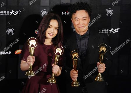 Lala Hsu, Eason Chan. Taiwanese singer Lala Hsu and Hong Kong singer Eason Chan hold their awards for the Best Female and Male Mandarin Singer, Best Album in Mandarin and Best Album at the 29th Golden Melody Awards in Taipei, Taiwan, . The Golden Melody Awards are one of the Chinese-language pop music world's biggest annual events