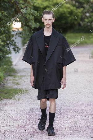 Editorial photo of Sean Suen show, Runway, Spring Summer 2019, Paris Fashion Week Men's, France - 22 Jun 2018