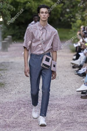 Editorial picture of Sean Suen show, Runway, Spring Summer 2019, Paris Fashion Week Men's, France - 22 Jun 2018