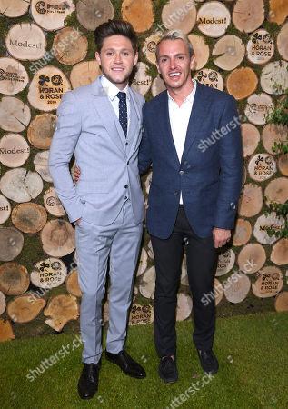 Niall Horan and Simon Jones