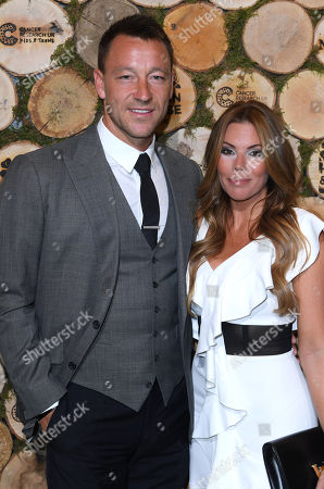 Stock Image of John Terry and wife Toni