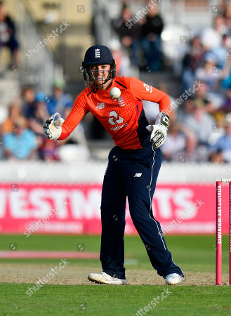 Sarah Taylor of England during the International T20 match between England Women Cricket and New Zealand at the Cooper Associates County Ground, Taunton. Picture by Graham Hunt