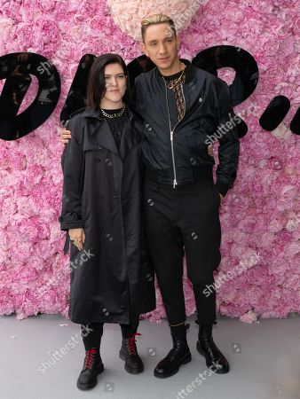 Stock Image of Romy Madley Croft and Oliver Sim