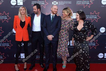 Stock Image of Emma Comley, Daniel Mays, Tom Beard, Billie Piper, Sadie Frost