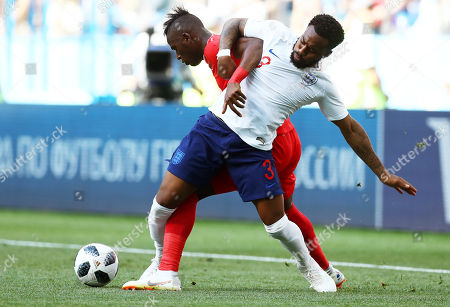Danny Rose of England and Abdiel Arroyo of Panama.