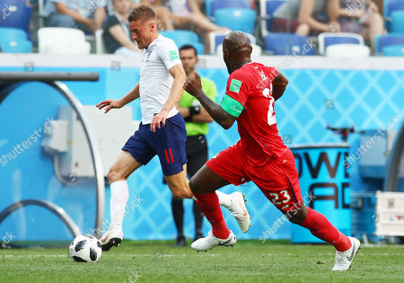 Editorial image of England v Panama, Group G, 2018 FIFA World Cup football match, Nizhny Novgorod Stadium, Russia - 24 Jun 2018