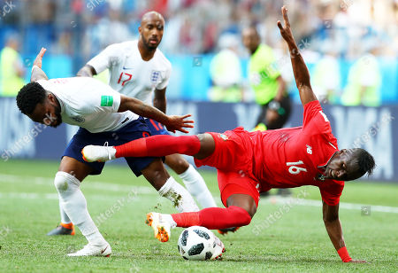 Abdiel Arroyo of Panama and Danny Rose of England.