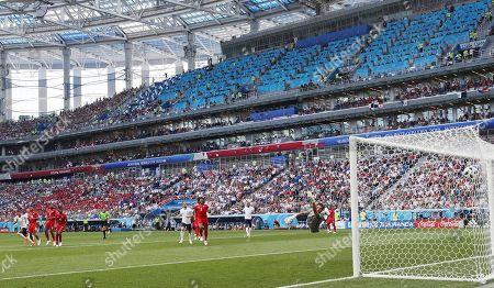 Editorial picture of England v Panama, Group G, 2018 FIFA World Cup football match, Nizhny Novgorod Stadium, Russia - 24 Jun 2018