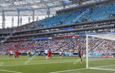 Editorial photo of England v Panama, Group G, 2018 FIFA World Cup football match, Nizhny Novgorod Stadium, Russia - 24 Jun 2018
