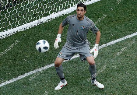 Goalkeeper Jaime Penedo of Panama