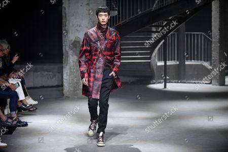 Editorial picture of Lanvin - Runway - Paris Fashion Week Spring/Summer 2019, France - 24 Jun 2018