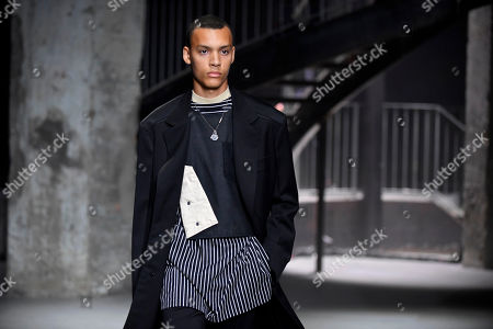Editorial image of Lanvin - Runway - Paris Fashion Week Spring/Summer 2019, France - 24 Jun 2018