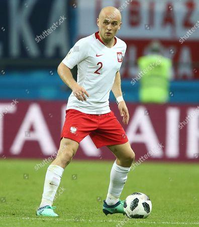 Stock Photo of Michal Pazdan of Poland