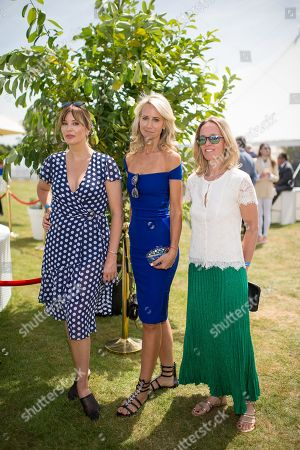 Catalina Guirado, Lady Victoria Hervey and Marie-Sophie Vaucher