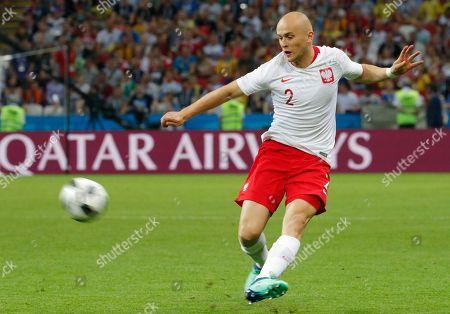 Michal Pazdan of Poland